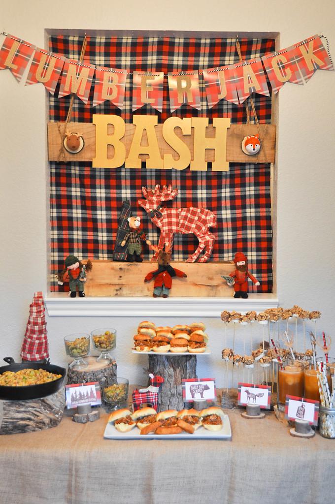 Lumberjack Bash Party - Wit & Wander 24