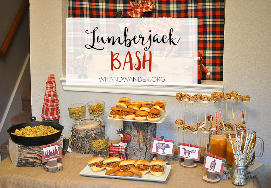Rustic And Burly Lumberjack Bash Party