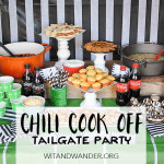 Chili Cook-Off Tailgate Party