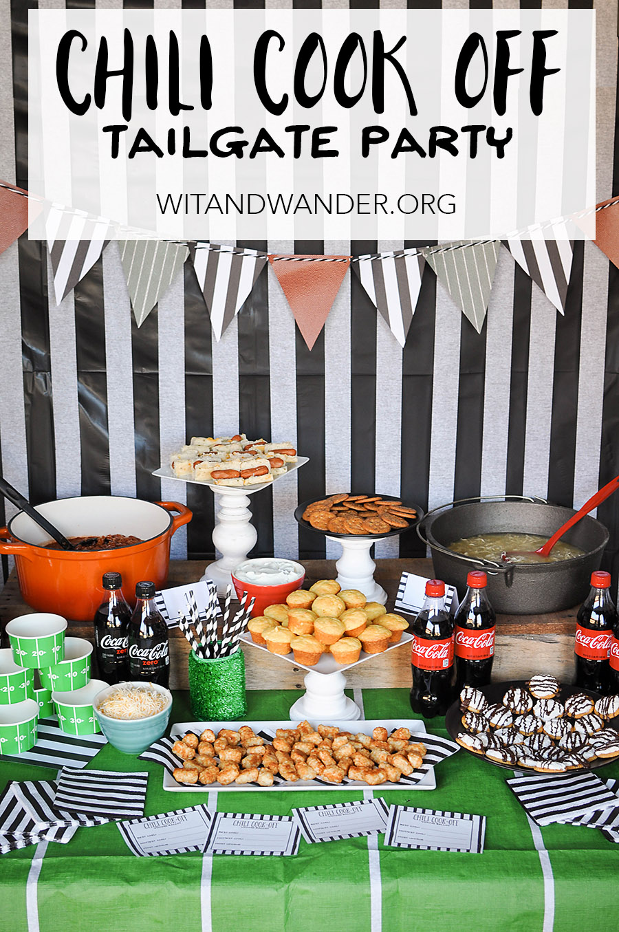 Chili Cook Off Tailgate Party | Wit & Wander