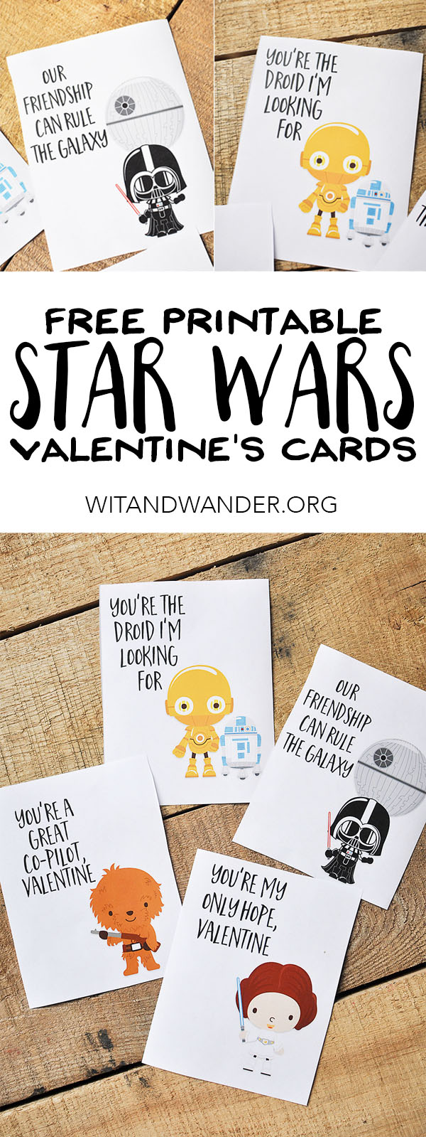 It is a photo of Lively Star Wars Printable Cards