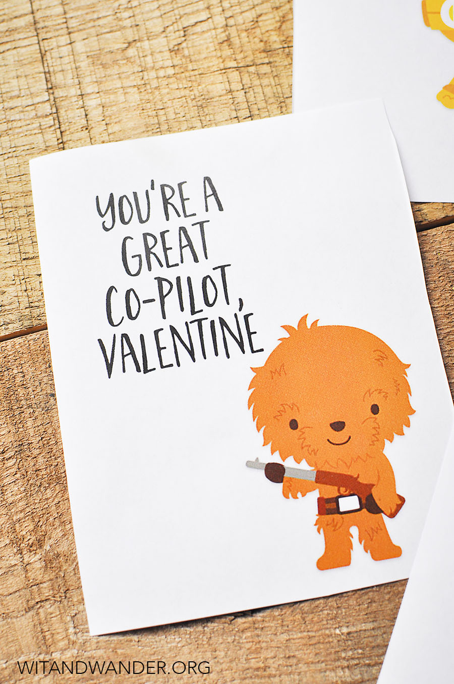 picture about Free Printable Valentines Day Cards for Your Husband named Star Wars Valentines Working day Playing cards for Little ones - Our Handcrafted Everyday living