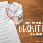 DIY Winter Bucket List in a Jar