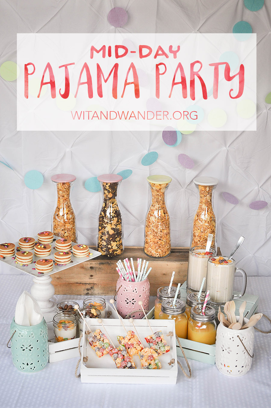 Mid-Day Pajama Party - Our Handcrafted Life