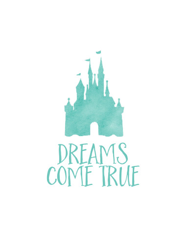 Free Disney World Autograph Print - Dreams Come True | Wit & Wander