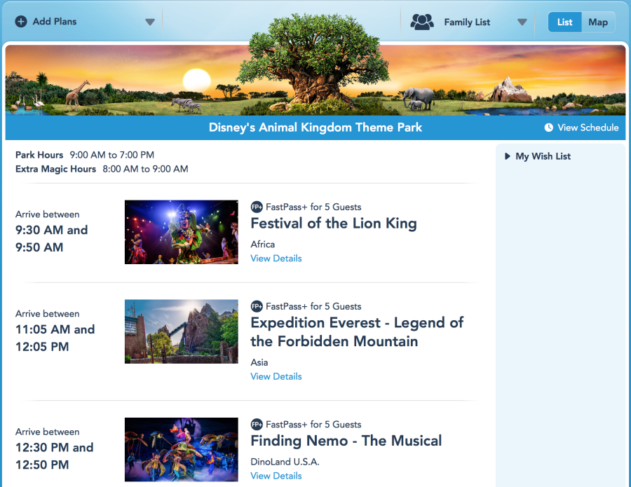 How to Book FastPass+ on My Disney Experience | Wit & Wander