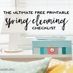 Spring Cleaning Checklist – Plus Expert Tip & Tricks