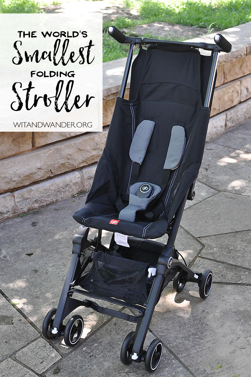 an innovative stroller for travel gb pockit review our