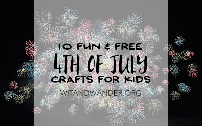 10 Fun and Free 4th of July Crafts for Kids