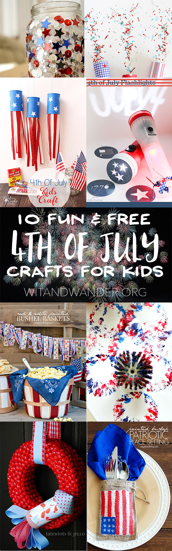 10 Fun And Free 4th Of July Crafts For Kids Our Handcrafted Life