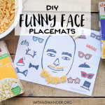 Play with Your Food: DIY Placemats for Kids