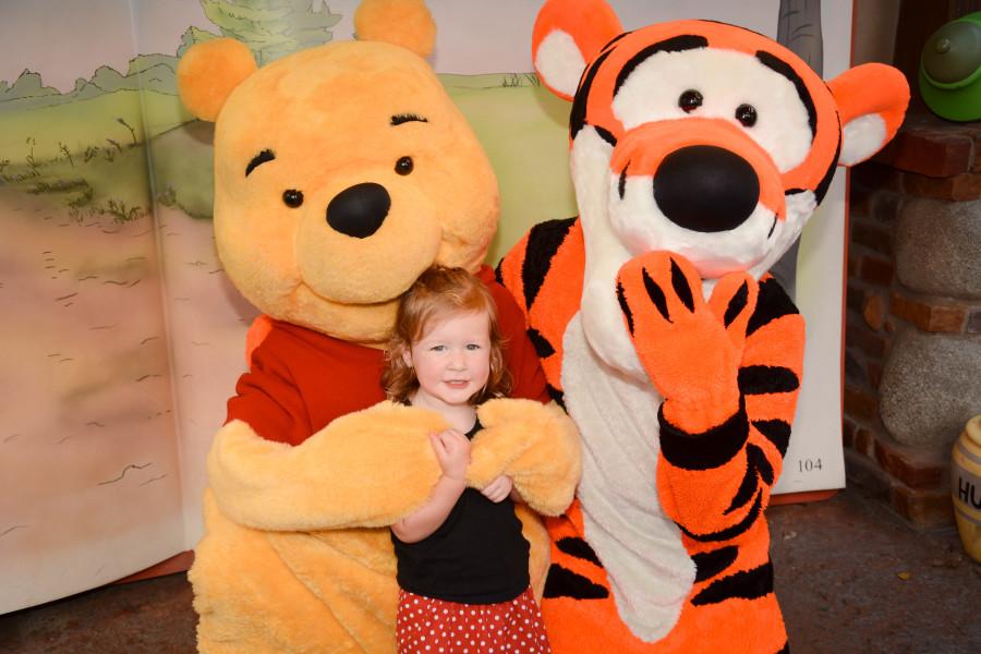 Winnie the Pooh Meet and Greet - Walt Disney World 2016 - Our Disney Trip Report | Wit & Wander