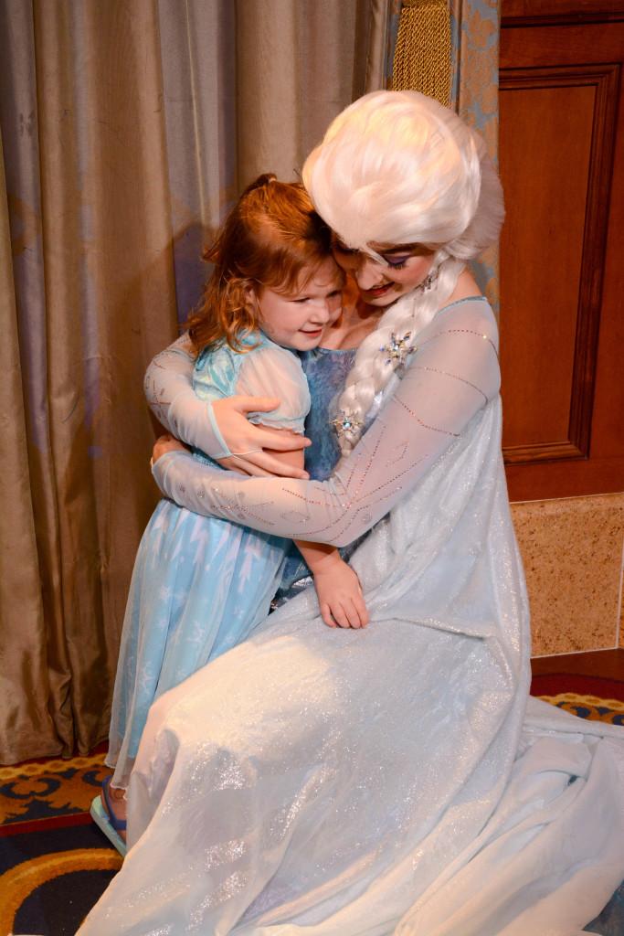 Elsa Meet and Greet - Walt Disney World 2016 - Our Disney Trip Report | Wit & Wander