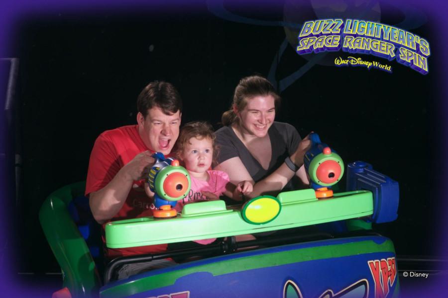 Buzz Lightyear Space Ranger Spin - Walt Disney World 2016 - Our Disney Trip Report | Wit & Wander