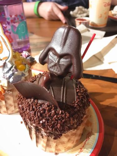 Darth Vader Cupcake - Walt Disney World 2016 - Our Disney Trip Report | Wit & Wander