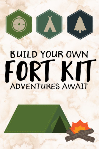 Build Your Own Fort Kit Free Printable | Wit & Wander