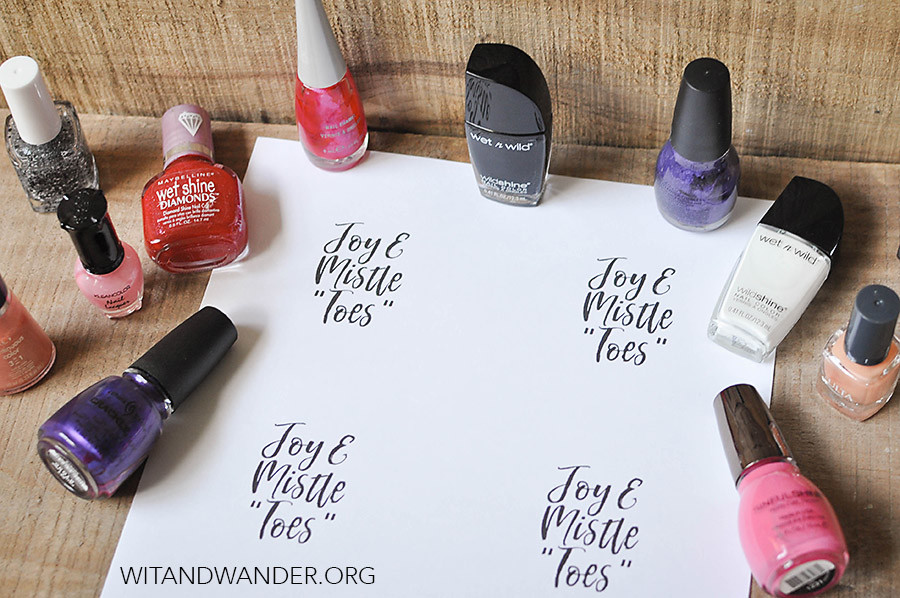Free Printable Nail Polish Gift Tags - Our Handcrafted Life