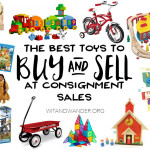 Best Toys to Buy (and Sell) at Consignment Sales