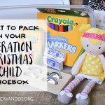 Operation Christmas Child – What to Pack (and what NOT to Pack) in Your Shoebox