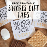 Free Printable S'Mores Gift Tags - Wit & Wander