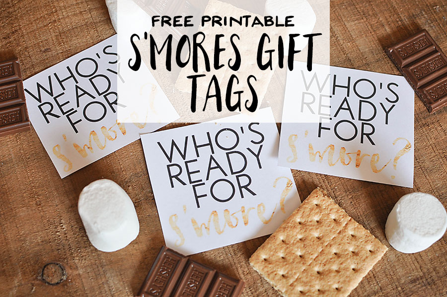 free printable s mores gift tags our handcrafted life