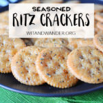 Seasoned Ritz Crackers