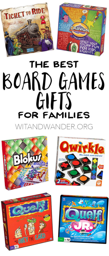 The Best Board Game Gifts for Families - Wit & Wander