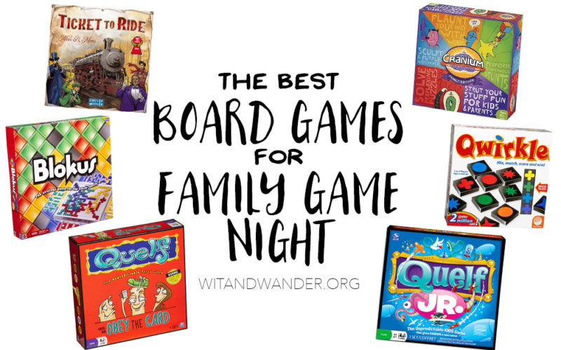 5 Best Board Games for Family Game Night