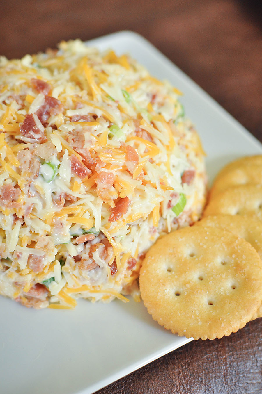 Easy Bacon Cheeseball Recipe - Wit & Wander