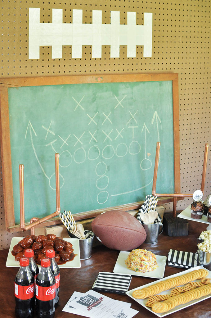 DIY Vintage Football Party Tailgate - Wit & Wander