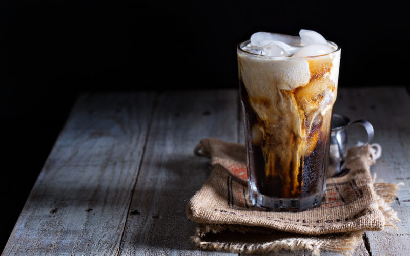 Homemade Pumpkin Spiced Iced Coffee