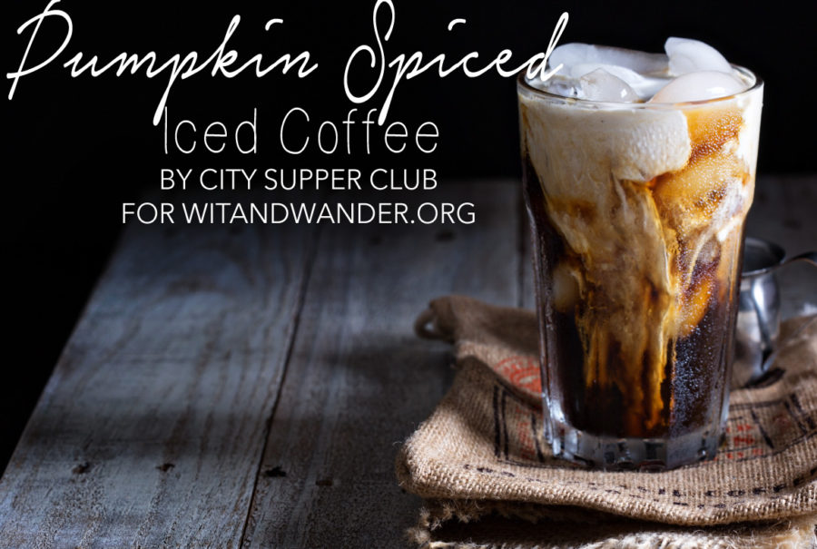 Pumpkin Spiced Iced Coffee Recipe