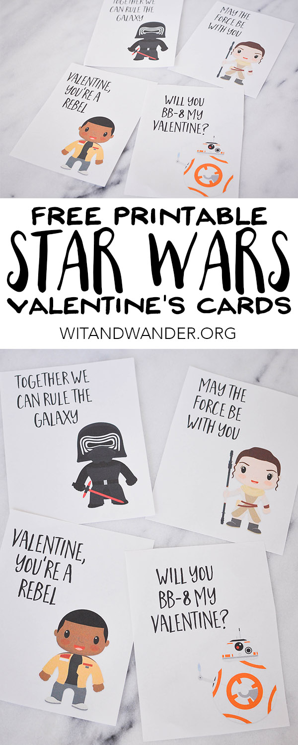 Star Wars The Force Awakens Valentines Day Cards Our – Star Wars Valentines Day Cards