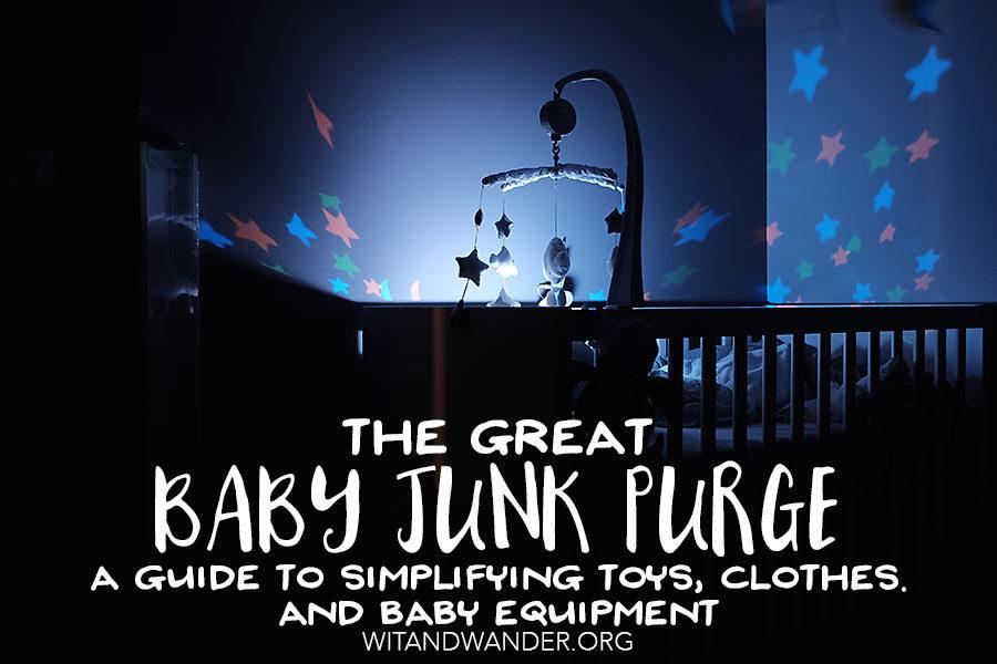 Simplifying Baby Equipment - Wit & Wander Header