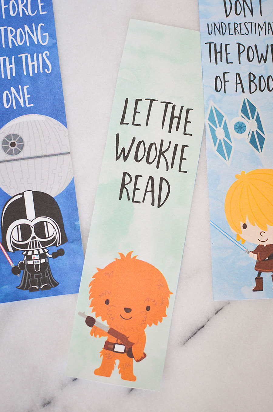 photograph relating to Star Wars Bookmarks Printable named Star Wars Bookmarks - Absolutely free Printables for Children - Our