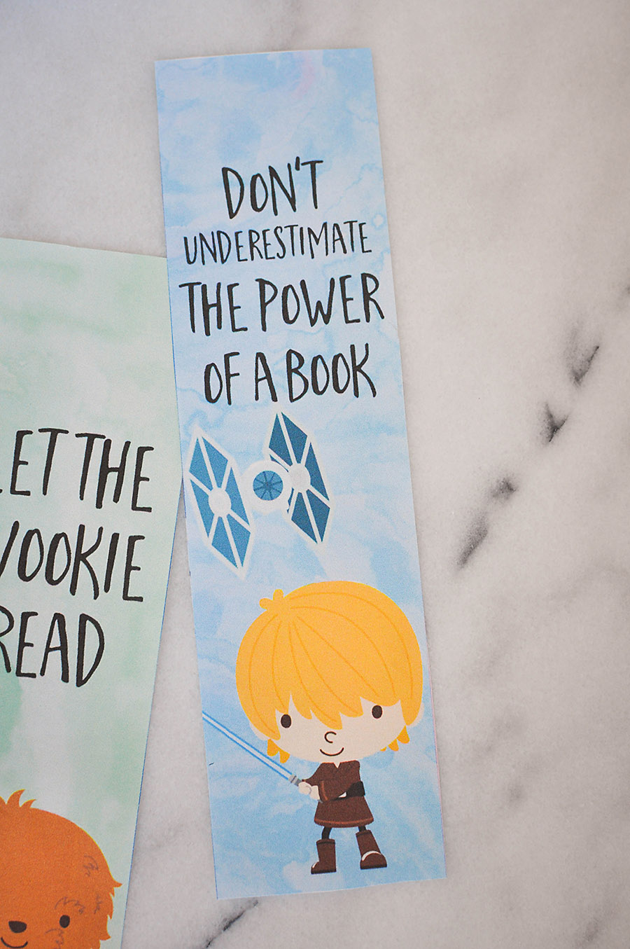 image about Star Wars Bookmark Printable titled Star Wars Bookmarks - Absolutely free Printables for Young children - Our