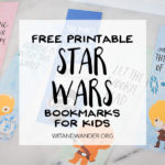 Star Wars Bookmarks – Free Printables for Kids