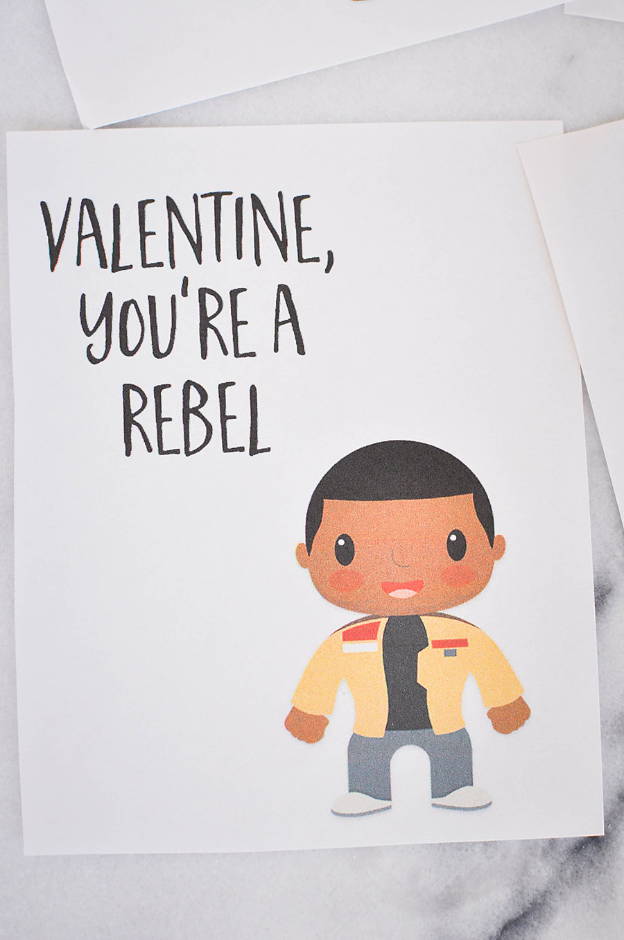 Star Wars: The Force Awakens Valentines Day Cards   Wit & Wander