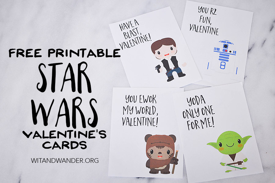 Star Wars Valentines Day Cards | Wit & Wander Part 2