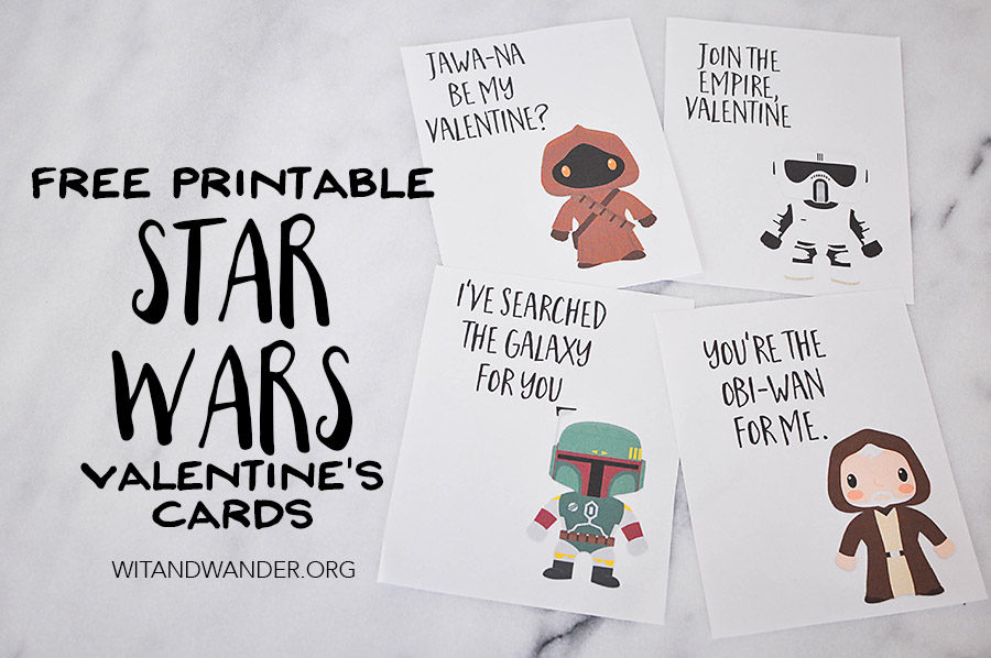 Star Wars Valentine S Day Cards Part 3 Our Handcrafted Life