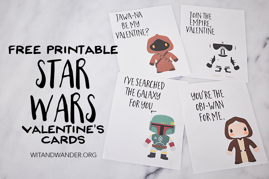 Star Wars Valentines Day Cards Part 3 Our Handcrafted Life – Star Wars Valentines Day Cards