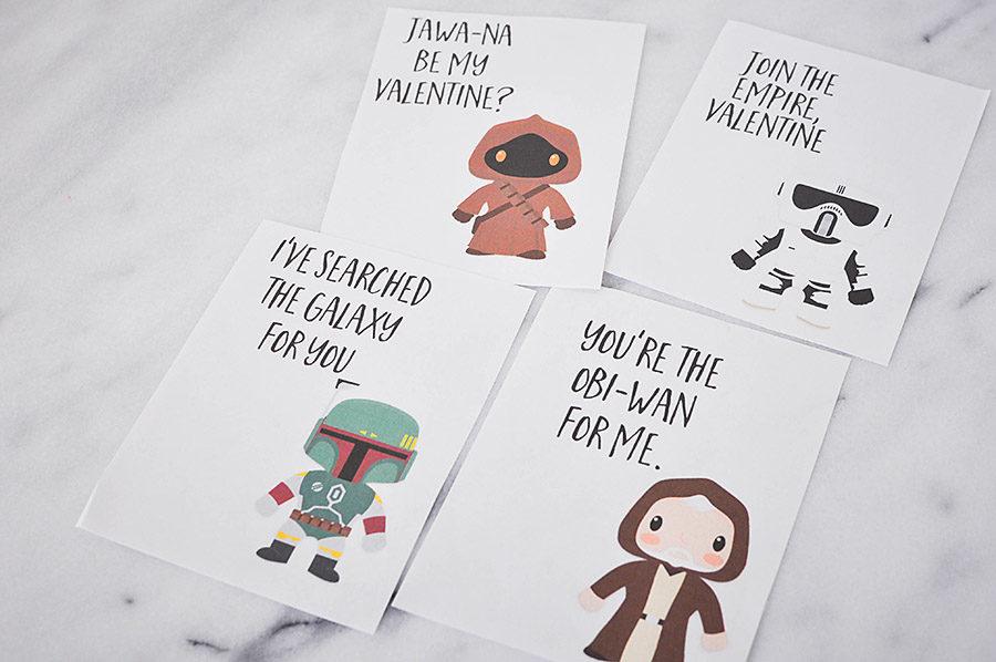 Star Wars Valentines Day Cards | Wit & Wander Part 3