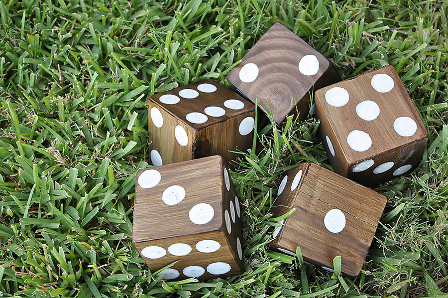 DIY Giant Backyard Dice - Our Handcrafted Life 3