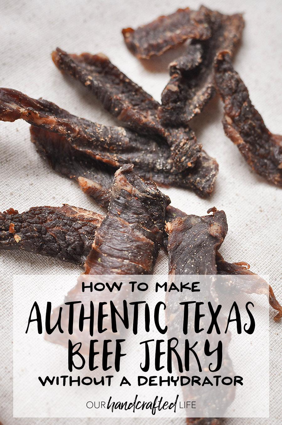 Authentic Texas Beef Jerky