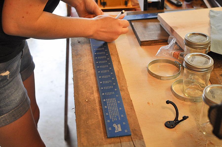 DIY Mason Jar Art Supply Organizer - Our Handcrafted Life