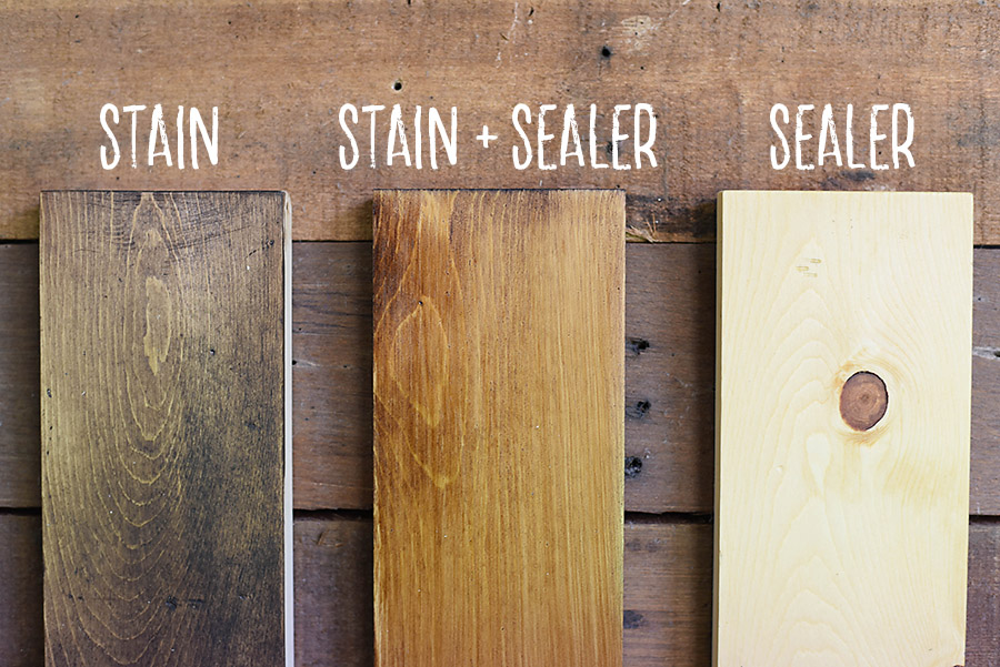 How To Sand Prep And Stain Wood Our Handcrafted Life