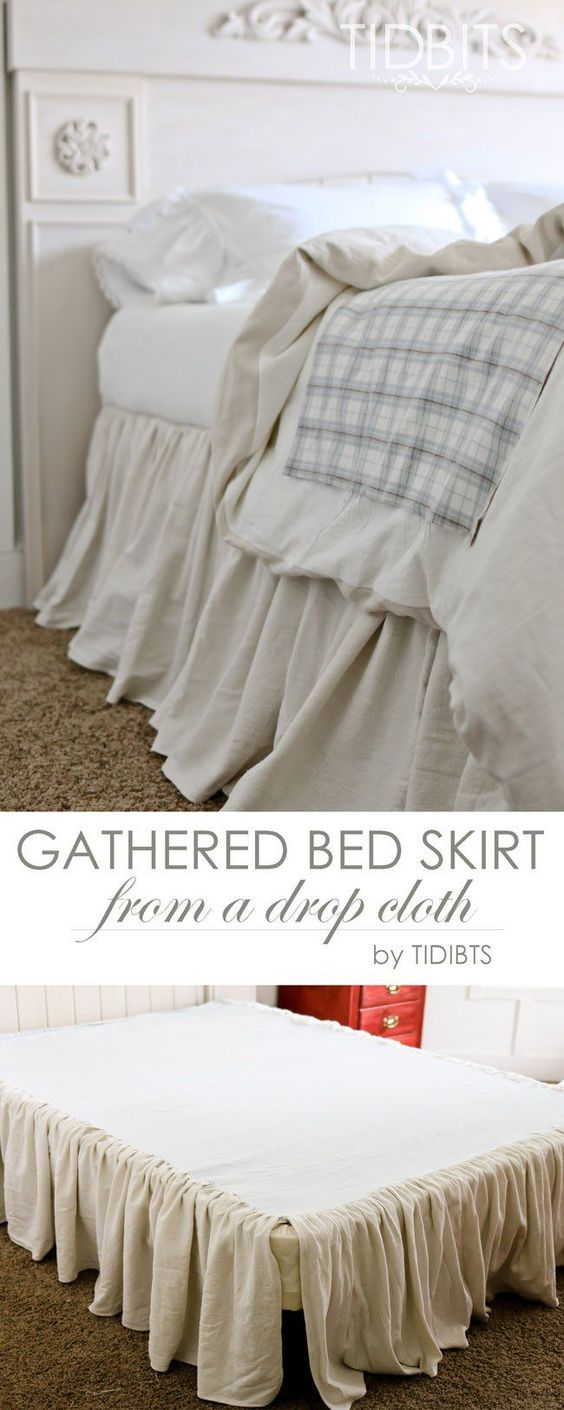 Gathered Bed Skirt - Tidbits by Cami