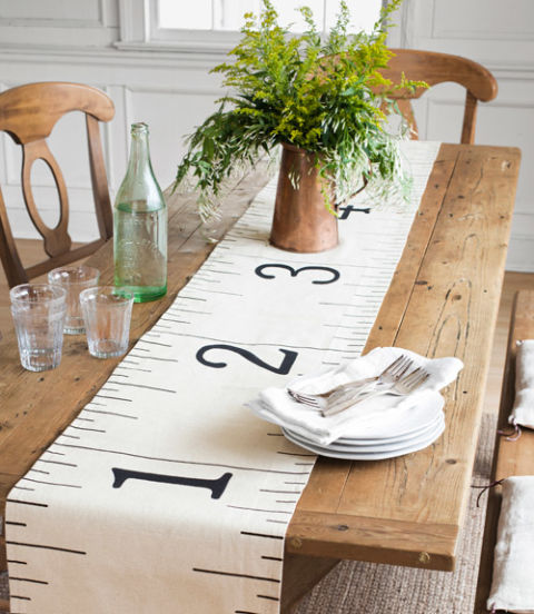 Ruler Table Runner - Country Living