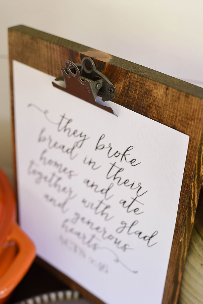 DIY Wooden Clipboard - Our Handcrafted Life