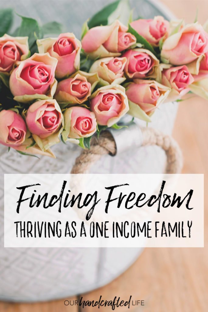 Finding Freedom - Thriving as a One Income Family - Our Handcrafted Life